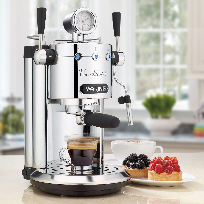 Espresso Makers For Home ~ Review waring pro professional home espresso machine